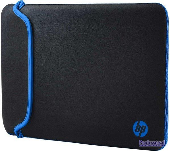 HP 15.6 notebook tok neoprén fekete-kék Notebook táska   Táska   hátizsák    védőtok 94f072d976