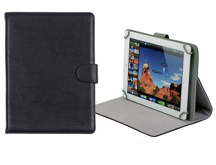 RivaCase Orly 3017 10.1 tablet tok állvánnyal bőr fekete Notebook táska    Táska   hátizsák   védőtok 1a5a05b6d6