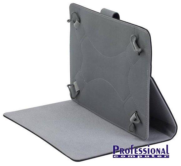 RivaCase Orly 3017 10.1 tablet tok állvánnyal bőr fekete Notebook ... 92c76e7111