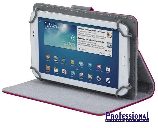 RivaCase Orly 3017 10.1 tablet tok állvánnyal bőr rózsaszín Notebook ... 9dcb98a259