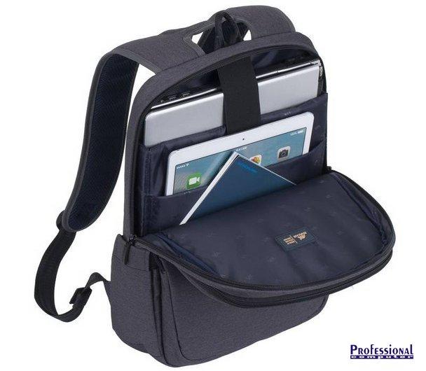 RivaCase Suzuka 7760 15.6 notebook hátizsák poliészter Notebook ... 22b18b5a52