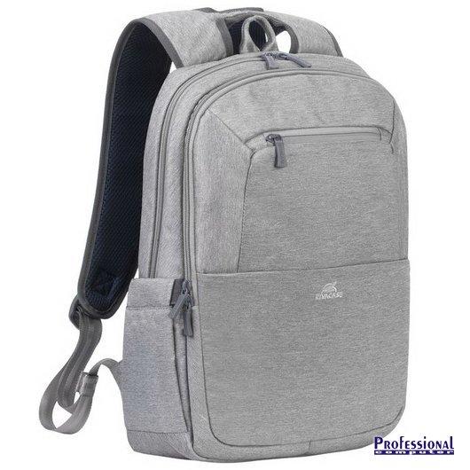 RivaCase Suzuka 7760 15.6 notebook hátizsák poliészter szürke Notebook  táska   Táska   hátizsák   védőtok 9c0eb0e567