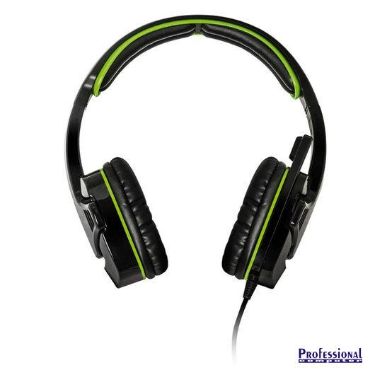 Spirit of Gamer ELITE-H8 gamer headset fekete-zöld Fejhallgató mikrofonnal  - Headset 22974dc7db