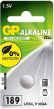 GP Batteries LR54 (189) 1.5V gombelem