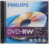 Philips DVD-RW 4.7GB 4x normál tok