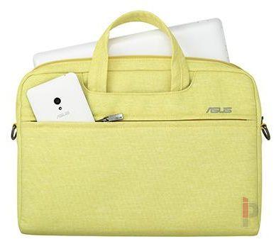 cf5e20634d49 Asus EOS 15.6 notebook táska sárga Notebook táska / Táska / hátizsák /  védőtok