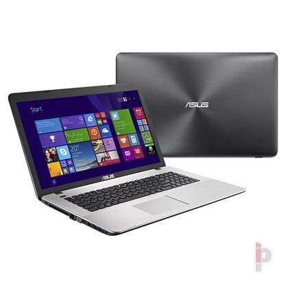 Asus X751LB-TY219D notebook 17.3 szürke Notebook 5dcd291e7f