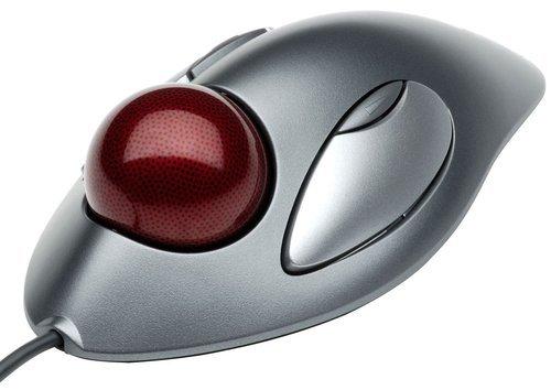 e7ce6a457 Logitech Trackman Marble USB/PS2 egér szürke Egér